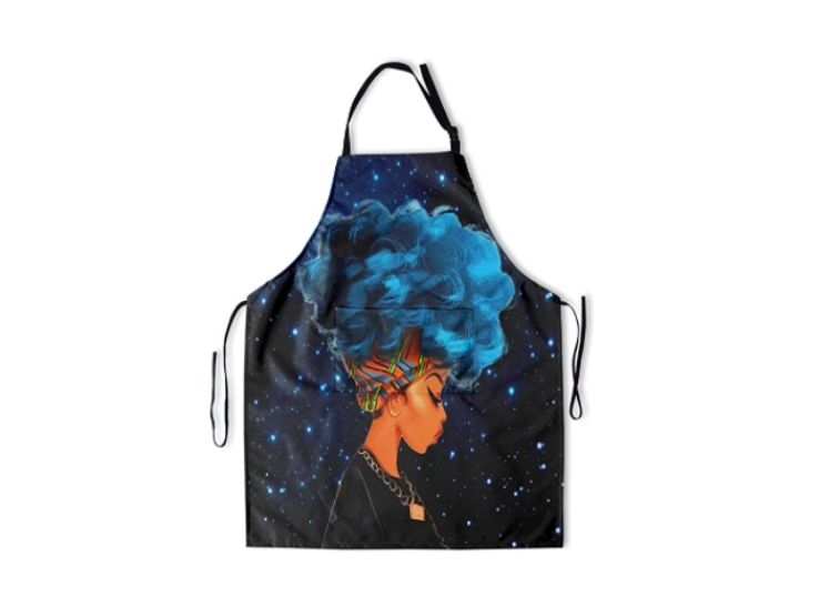 A black apron for African American girls