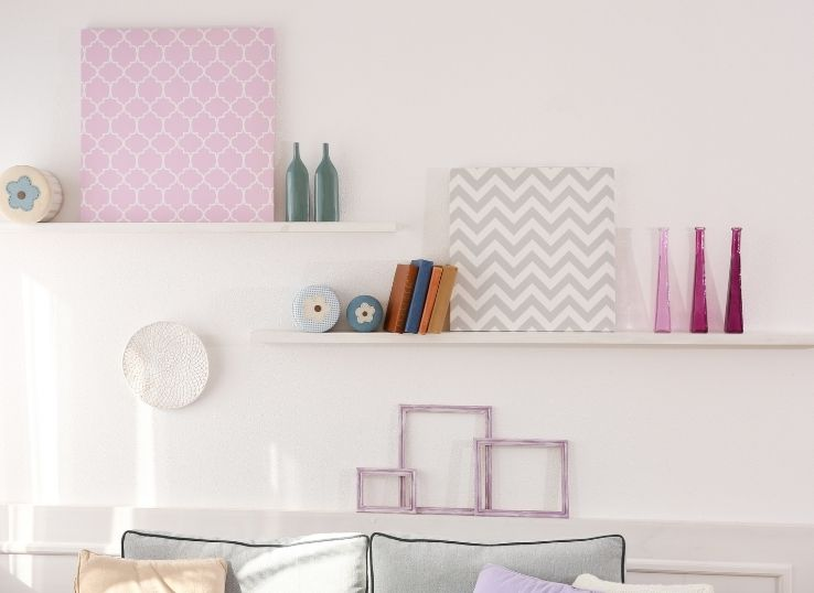 How to Decorate Slanted walls