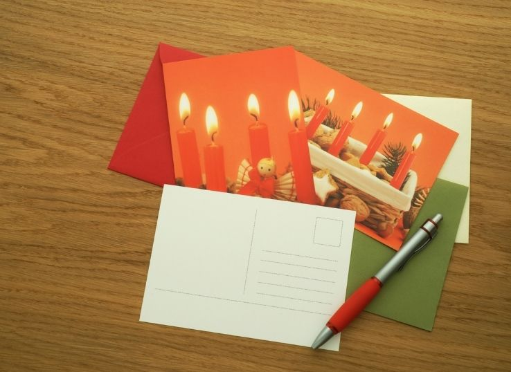 How to Draw a Christmas Card